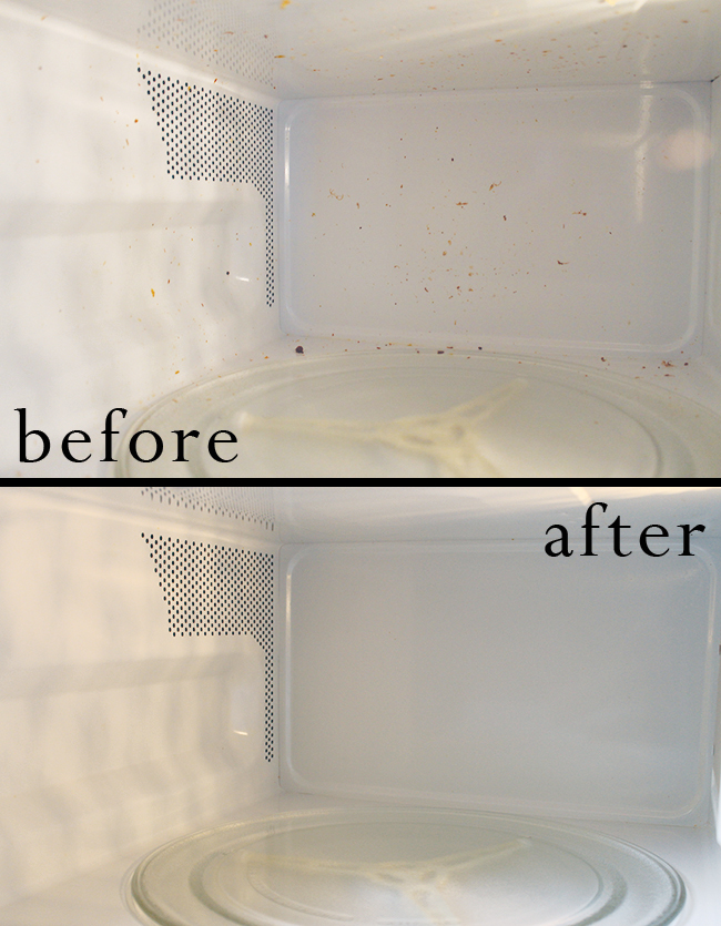 How to Clean Your Microwave with Lemon Water