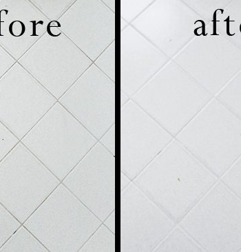 Bleach-Free DIY Grout Cleaner