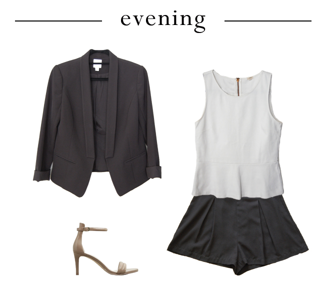 One Peplum Three Ways - Evening