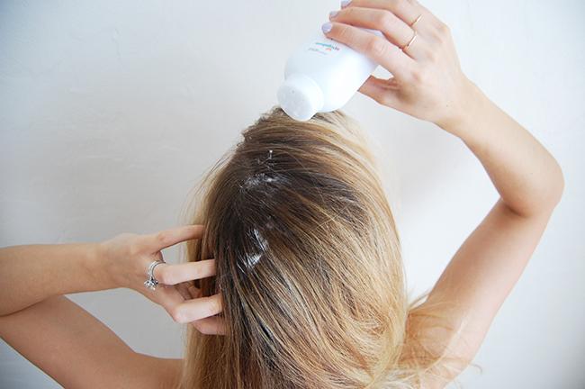 toxin free dry shampoo DIY