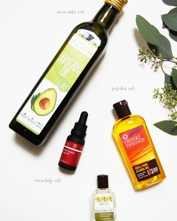 Natural face and body oil recipes