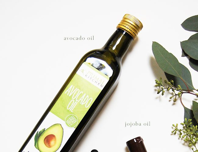 Face and Body Oils Found in the Kitchen