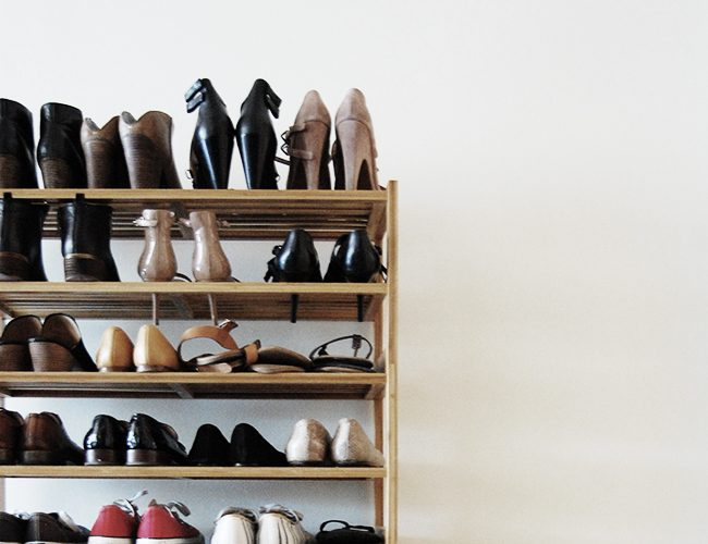 Why We Store Shoes by the Front Door