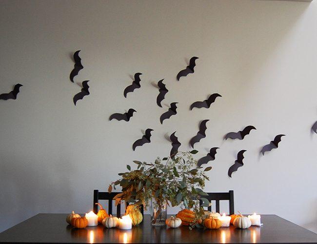 Minimalist Halloween Decor