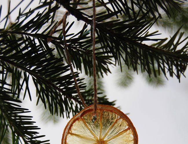 Dried Citrus DIY Christmas Ornaments