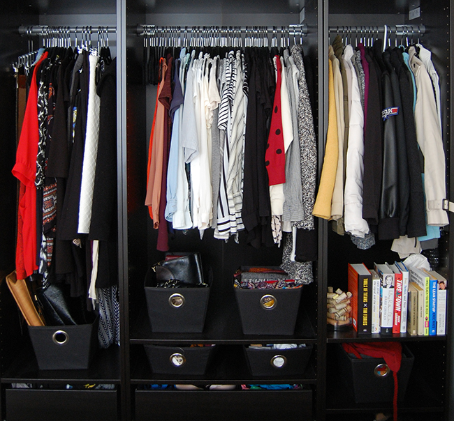 Golden rules for cleaning out your closet