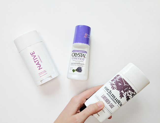 Natural Deodorant Test – My Favorites