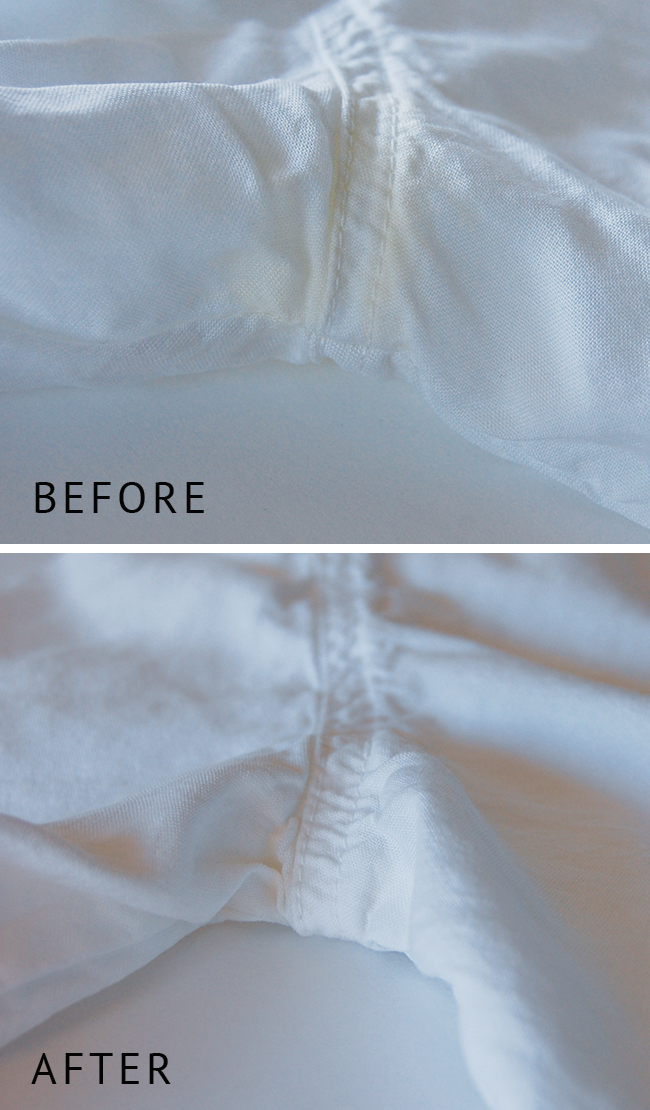 Fool proof recipe to remove sweat stains from white clothes