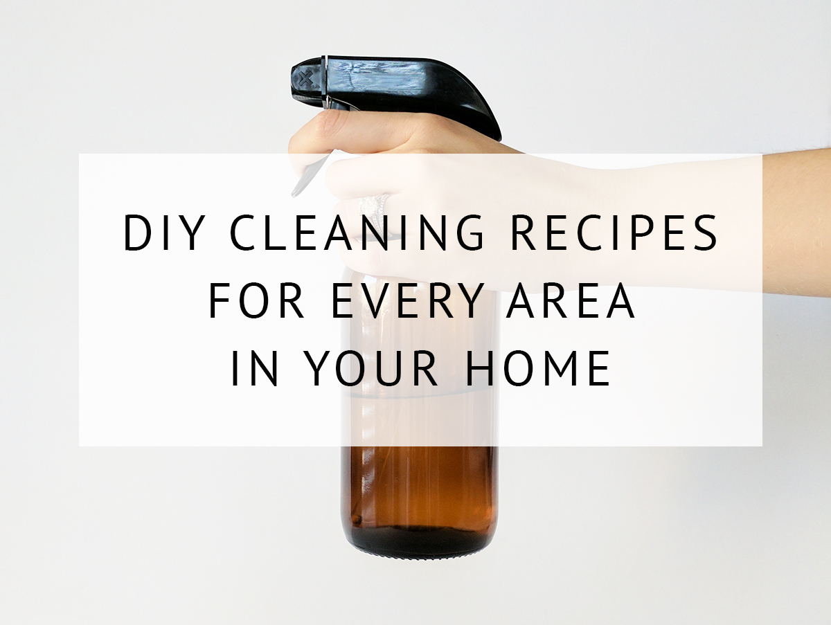 19 Natural Diy Cleaning Products For The Home A Clean Bee