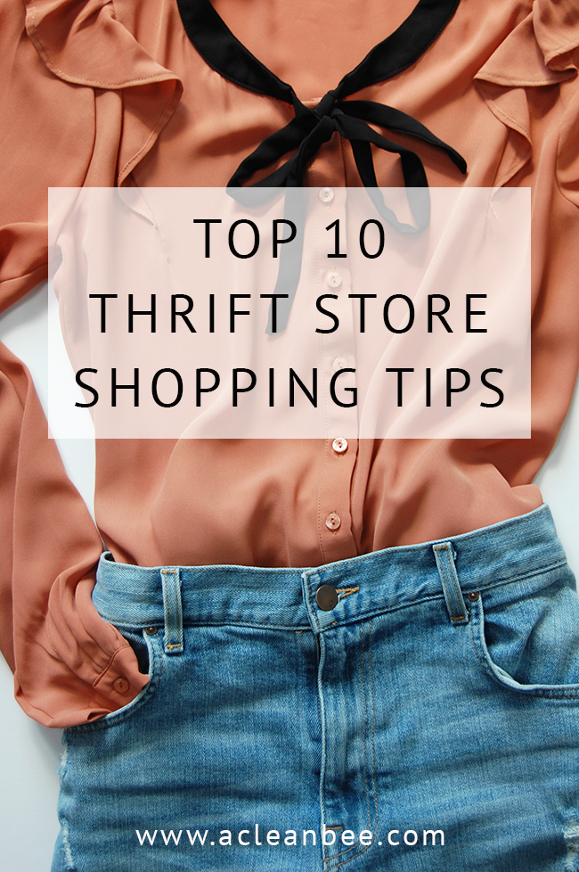 If you're interested in shopping second-hand, saving money, and looking great, check out these top 10 thrift store shopping tips and strategies!