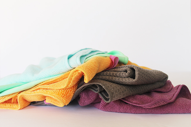 How to use, clean, and recycle microfiber cloths